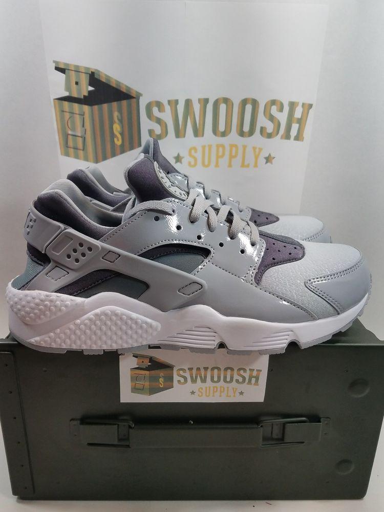 new product 1f75a 40149 Nike Womens Air Huarache Run Wolf Grey Cool Grey Sz 10 634835-023 Nike  Running