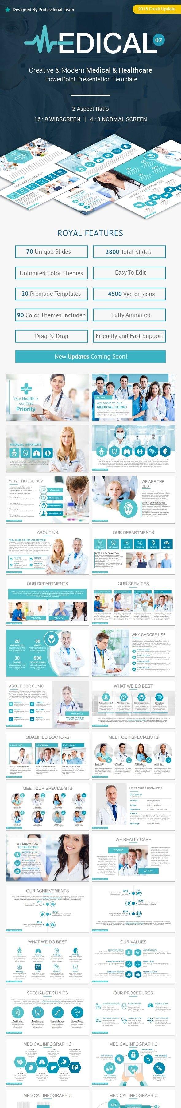best medical powerpoint presentation templates, brain