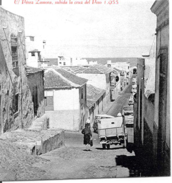 "Calle Pérez Zamora ""el antes"" Puerto de la Cruz, Tenerife"