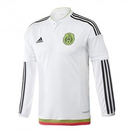 Jersey Adidas Fútbol Selección Mexicana Visita Fan Manga Larga 14 15 ... a42e4031b5004