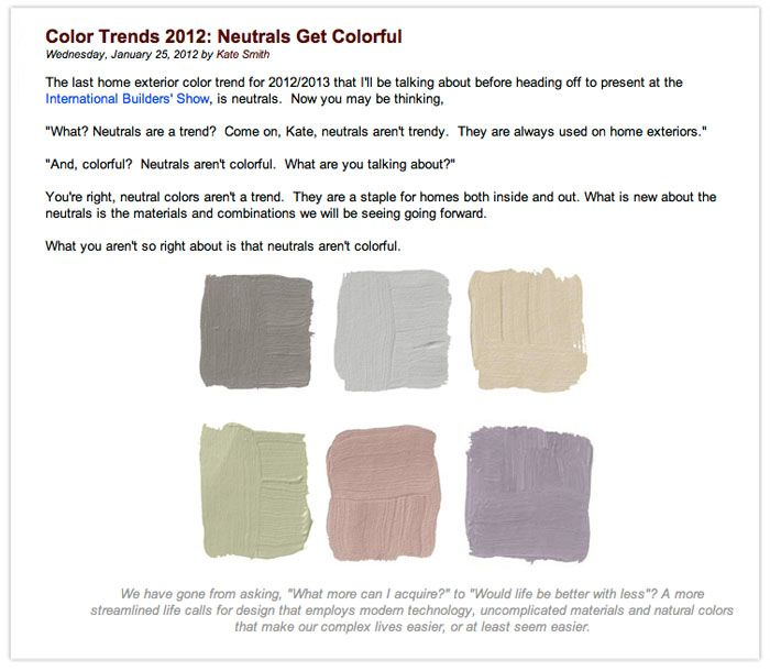 kate smith for davinci blog neutrals get color color decor