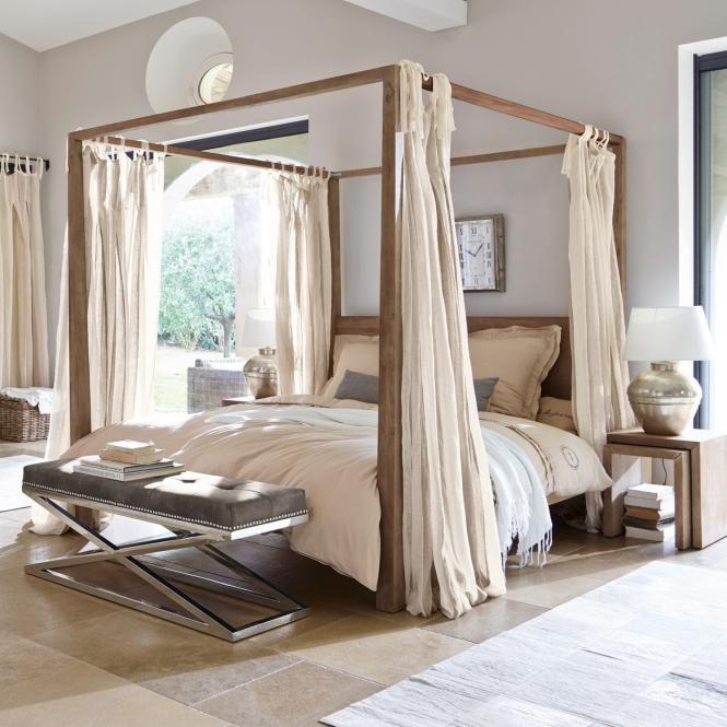 Bett Milo #himmelbett #betten #schlafzimmer #ideen #einrichtung - schlafzimmer himmelbett