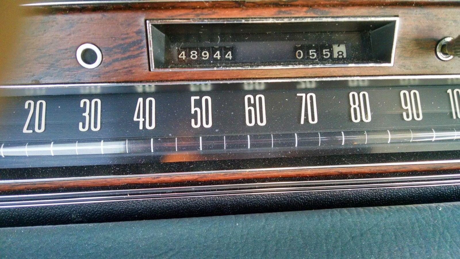 Lincoln Continental Town Car 1973