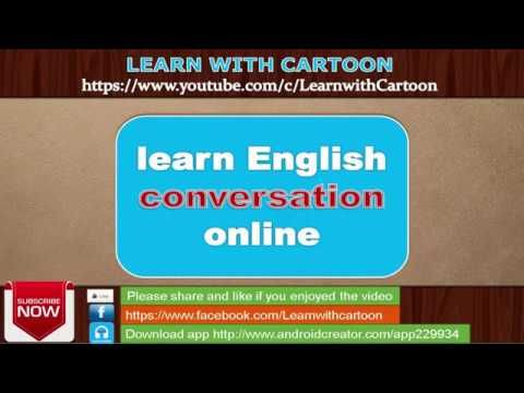 learn English conversation for free online - English conversation