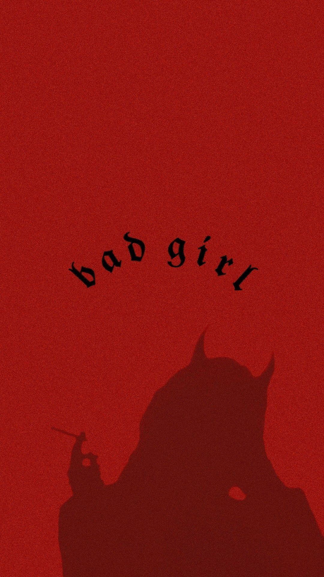 Bad Girl Aesthetic Wallpaper