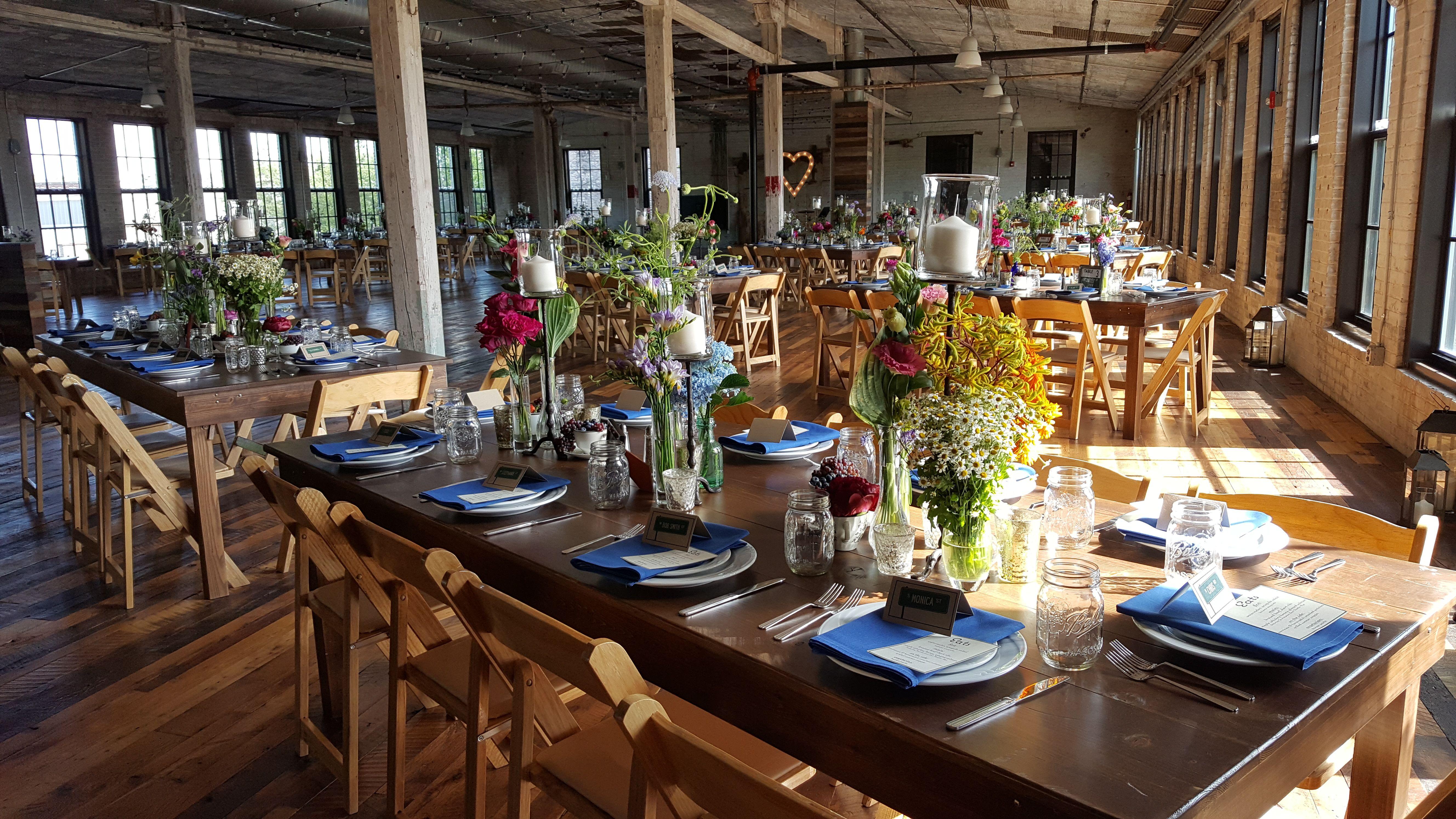 July 2016 wedding in Warren Hall. http//www