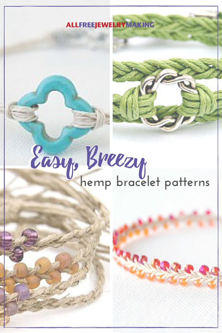 29 easy breezy hemp bracelet patterns hemp bracelet tutorial this collection of hemp bracelet tutorials is fresh and summery just what the doctor ordered fandeluxe Images