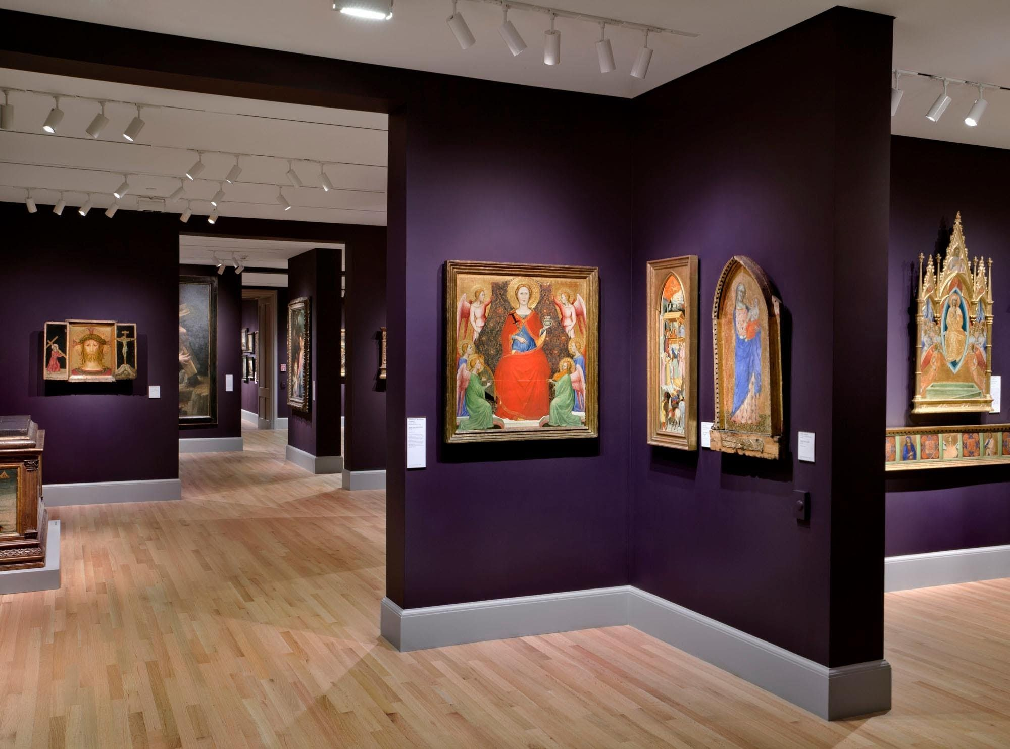 Color of art gallery walls - Crit Yale University Art Gallery The Architect S Newspaper