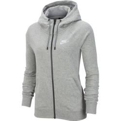 Photo of Nike women's sweat jacket Essential, size S in gray NikeNike
