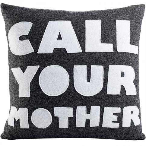 alexandra ferguson Call Your Mother Pillow   Pure Home