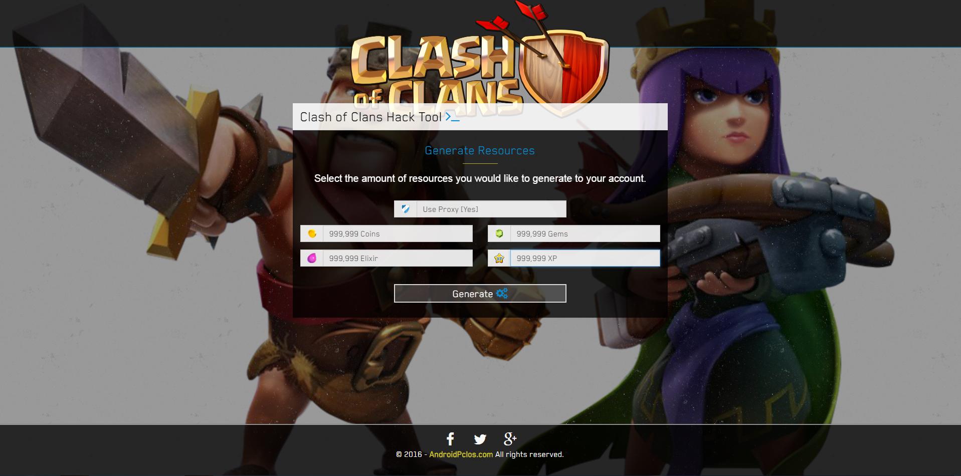 clash of clans hack zip file free download