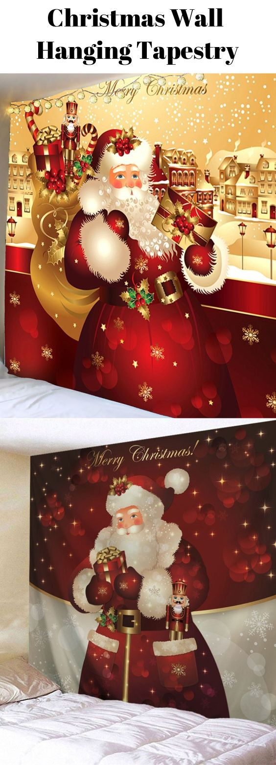 Christmas Wall Hanging Tapestry Start From 9 2 Sammydress Sammydress Com Christmas Wall Hangings Tapestry Wall Hanging Hanging Tapestry