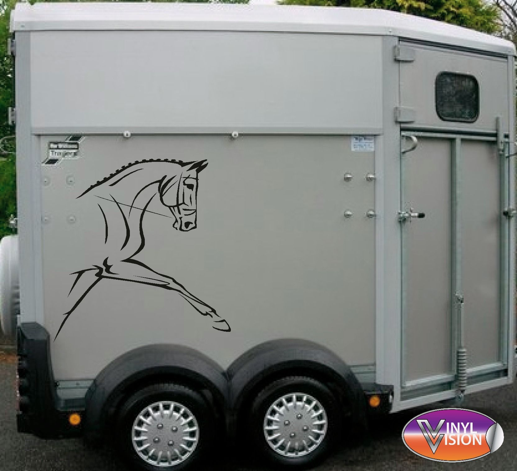 Equestrian Dressage Horse Trailer Or Lorry Decal Stickers Www Vinylvision Co Uk Dressage Horses Horses Horse Trailer [ 1516 x 1664 Pixel ]