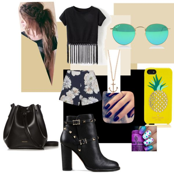move by thiffani-dejesus on Polyvore featuring moda, Finders Keepers, Valentino, Rachael Ruddick, Kate Spade, Minor Obsessions and Lottie