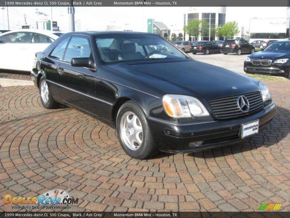 1999 MercedesBenz CL Coupe MercedesBenz CLClass For