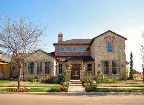 Villa Toscana Texas Tuscan House Plan with Front Courtyard
