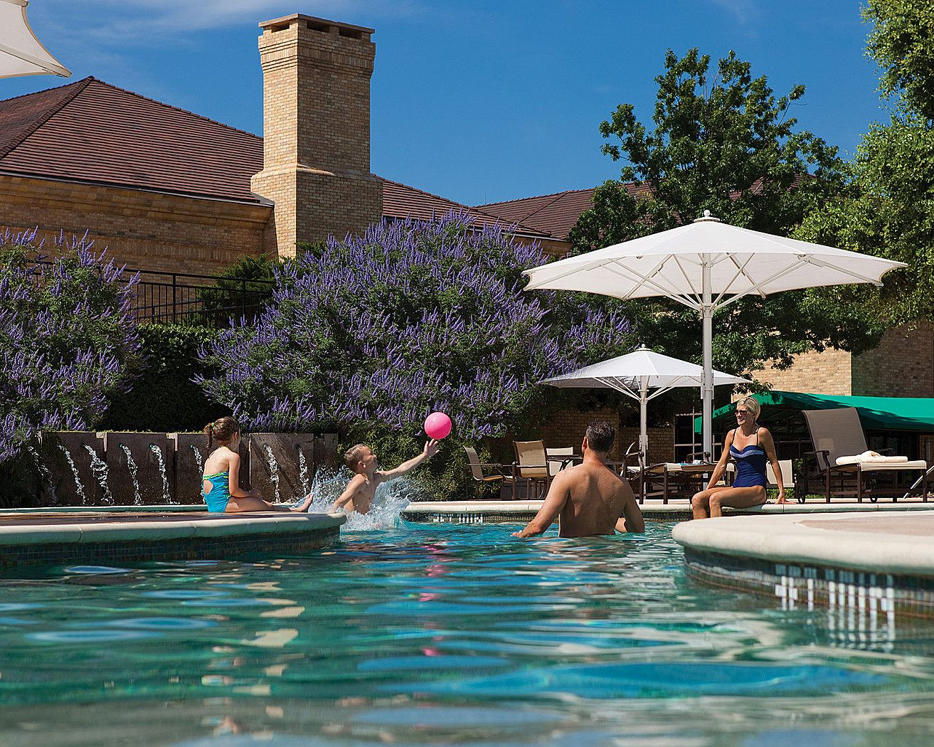 Open From Memorial Day Through Labor Day The Family Pool Is The Place To Be During The Summer Months Kids Best Hotels In Dallas Summer Staycation Family Pool