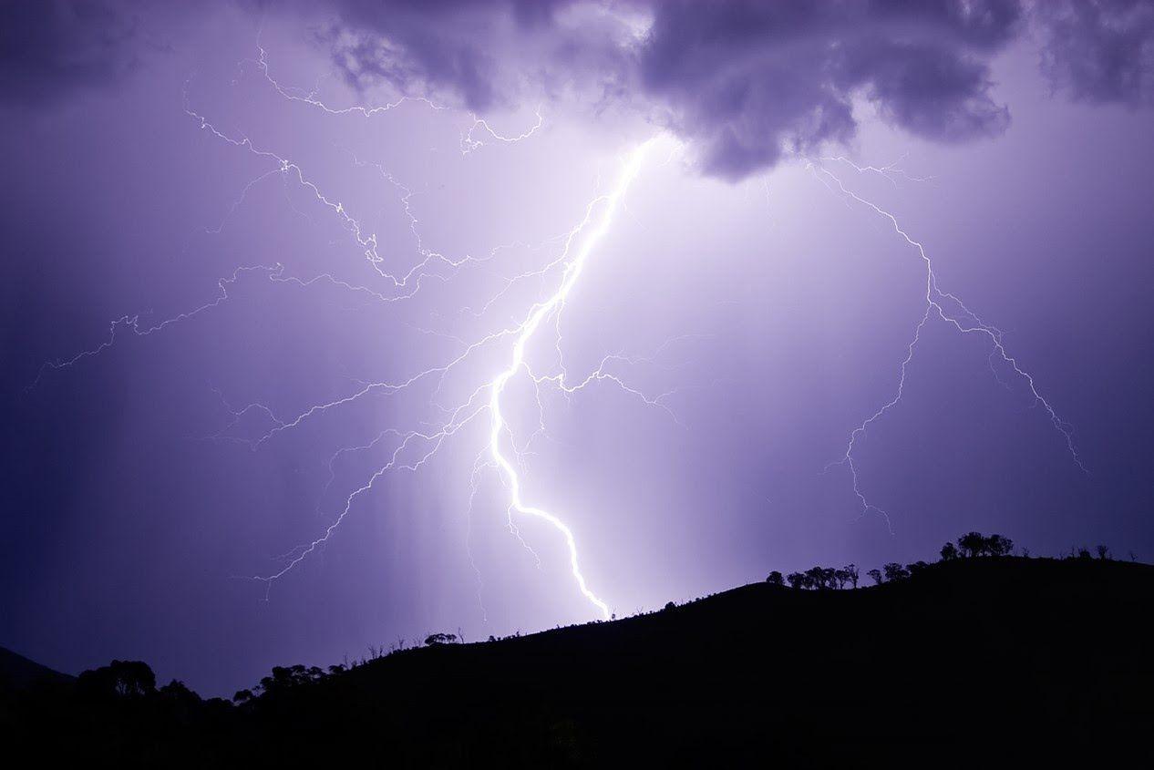 """Heavy Thunderstorm"" with music of Ludwig van Beethoven"