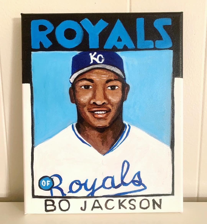 Park Art|My WordPress Blog_Bo Jackson Rookie Card Topps