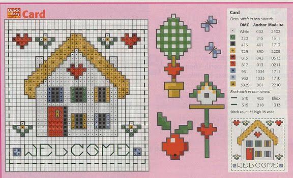 Houses.Casas.Villas.Maisons - LovingCrossStitch - Picasa Web Albums