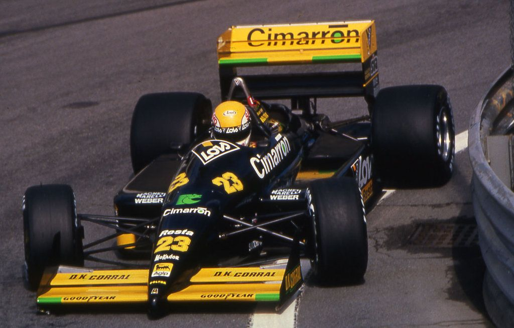 Pierluigi Martini Minardi M18 Detroit 1988 Formule 1