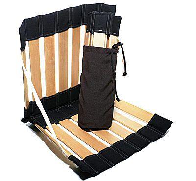 34e Chaise De Plage Suedoise Stol Ergolife Coloris Noir Prix Degressif Chaise De Plage Chaise Meditation Chaise Pliante