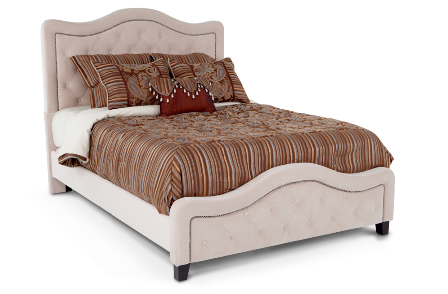 Bob S Got A Tufted Bed Too 500 For A King Bed Including