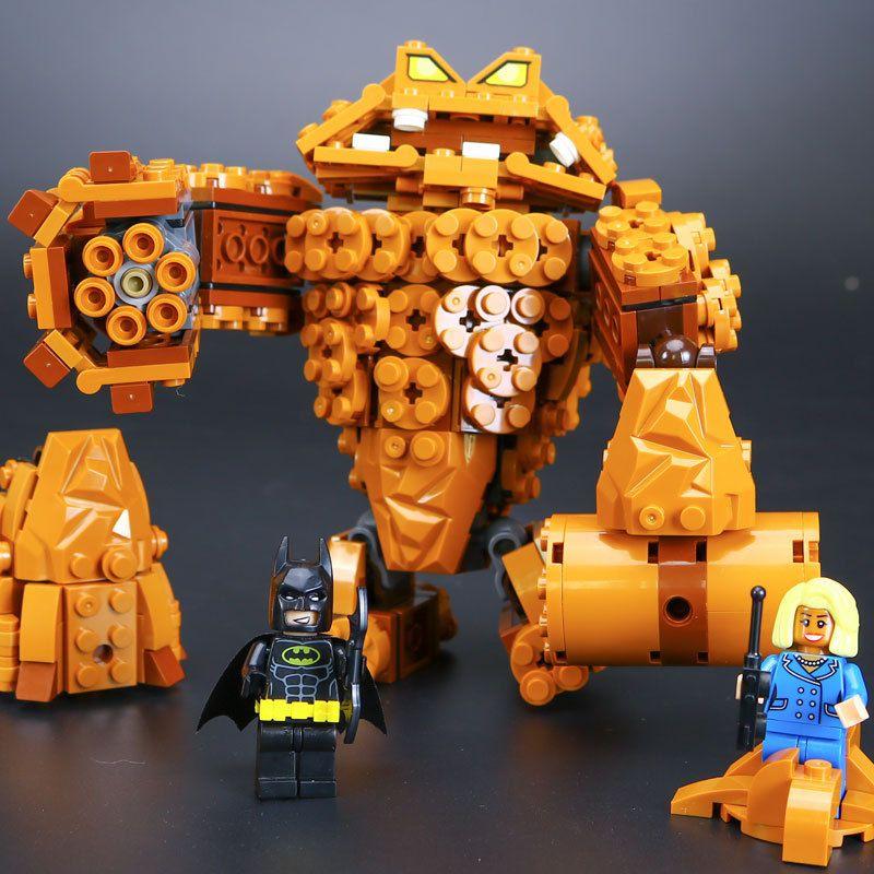 mylb New Batman Movie The Rock Monster Clayface Splat