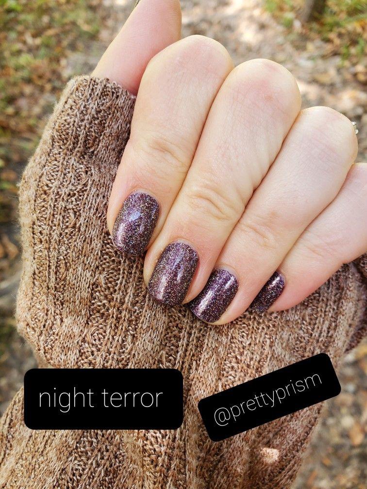 Night Terror (Color Street Halloween) by @prettypr