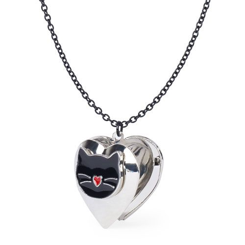 Girls Heart Locket Child Necklaces Christmas Stocking Fillers for Girls