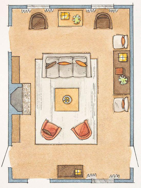 How To Arrange Furniture No Fail Tricks Someday My Home