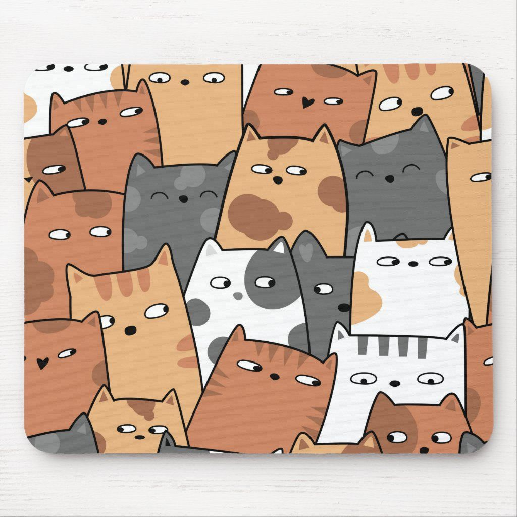 All Kinds Of Kittens Mouse Pad