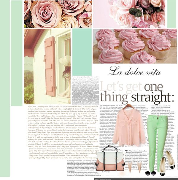 """""""La dolce vita"""" by ipetropouleas ❤ liked on Polyvore"""