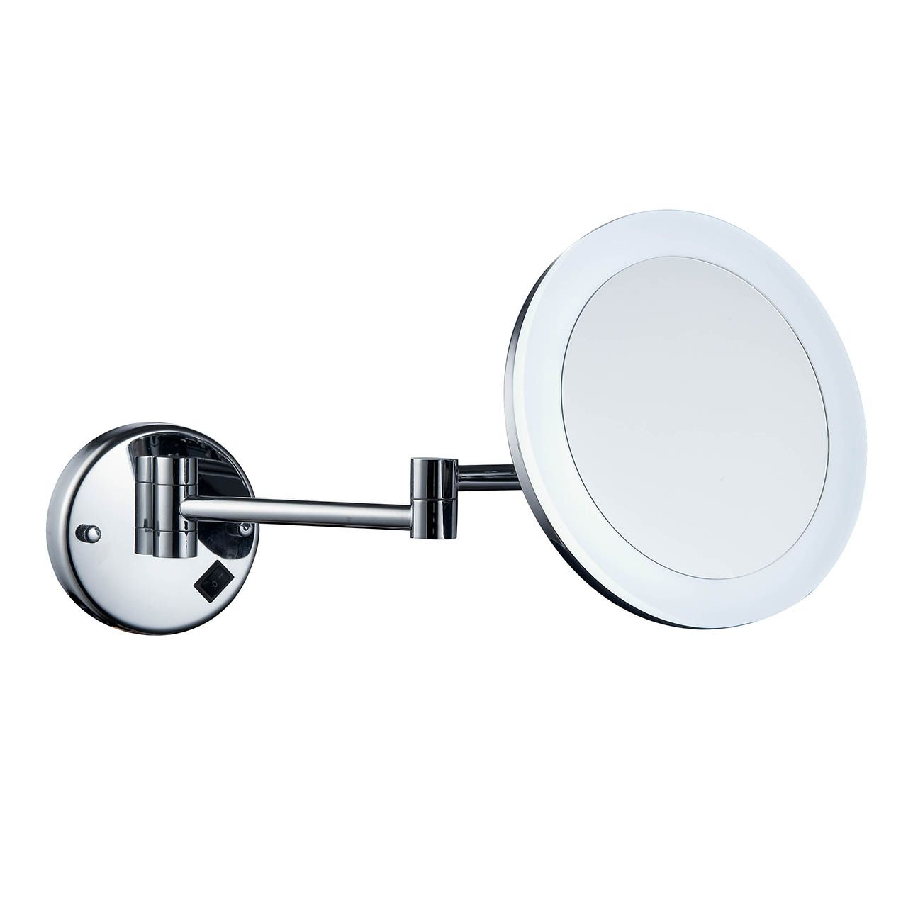 Excelvan 7x Magnification Wall Mount Makeup Vanity Mirror Jerdon Mounted Wiring Diagram Top 304 Stainless Steel 85 Inch Illuminated 10x Magnifying Face