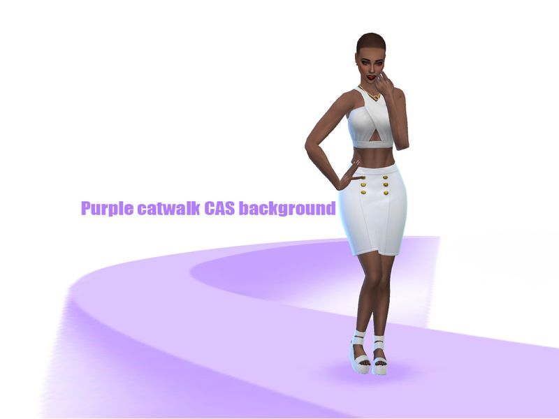 Purple Version Of The Cat Walk Background For Your Cas Found In Tsr Category Sims 4 Mods Sims 4 Cas Background Purple Cat Cat Walk