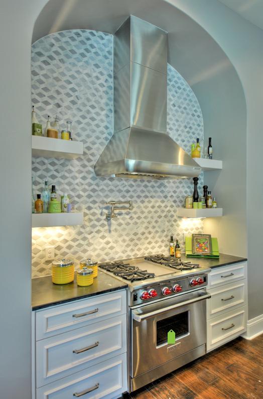 Houzz Satori Style Com Kitchen Backsplash Designs Home Kitchens Stylish Kitchen