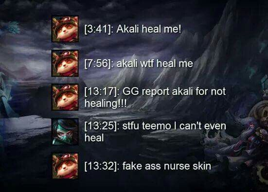 Bronze Chat D Teemo Is Raging League Memes League Of Legends Memes League Of Legends