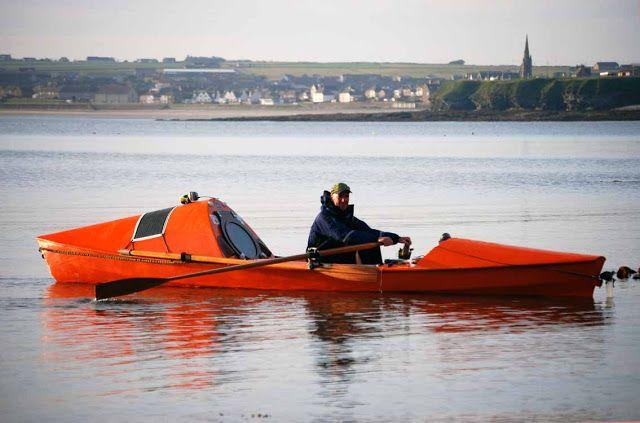 ROWING FOR PLEASURE Smallest Ocean Rowing Boat