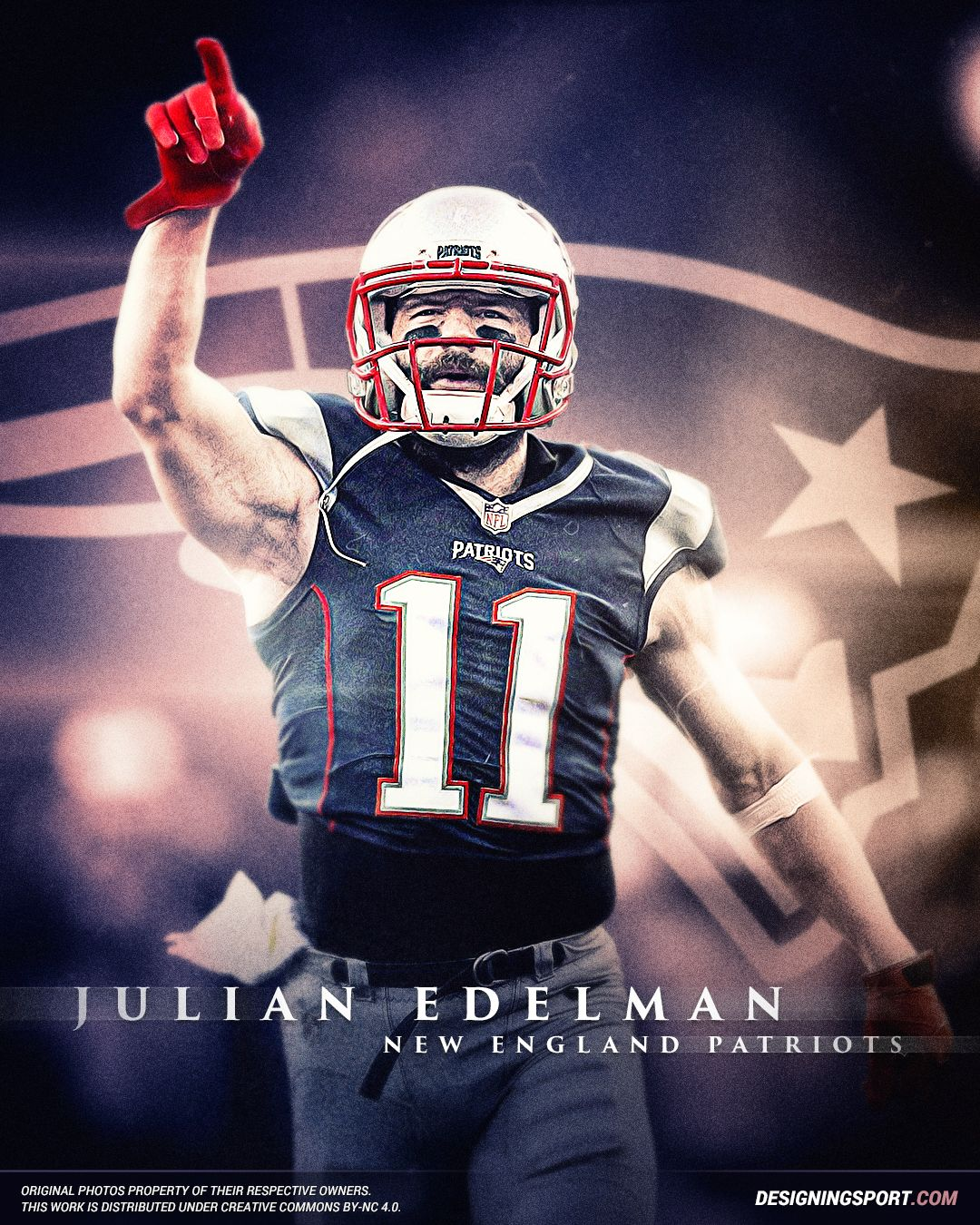 Designing Sport Julian Edelman New England Patriots New England Patriots Players New England Patriots Julian Edelman