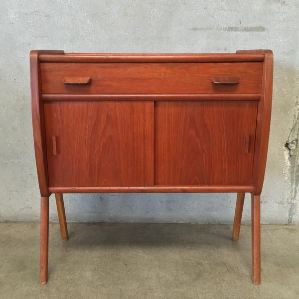 Poul Volther Teak Rare Cabinet Modern Style Furniture Mid Century Modern Decor Teak Furniture
