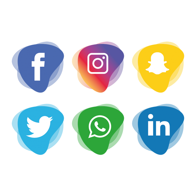 Social Media Icons Set Social Media Clipart Social Icons Media Icons Png And Vector With Transparent Background For Free Download Social Media Icons Media Icon Instagram Logo