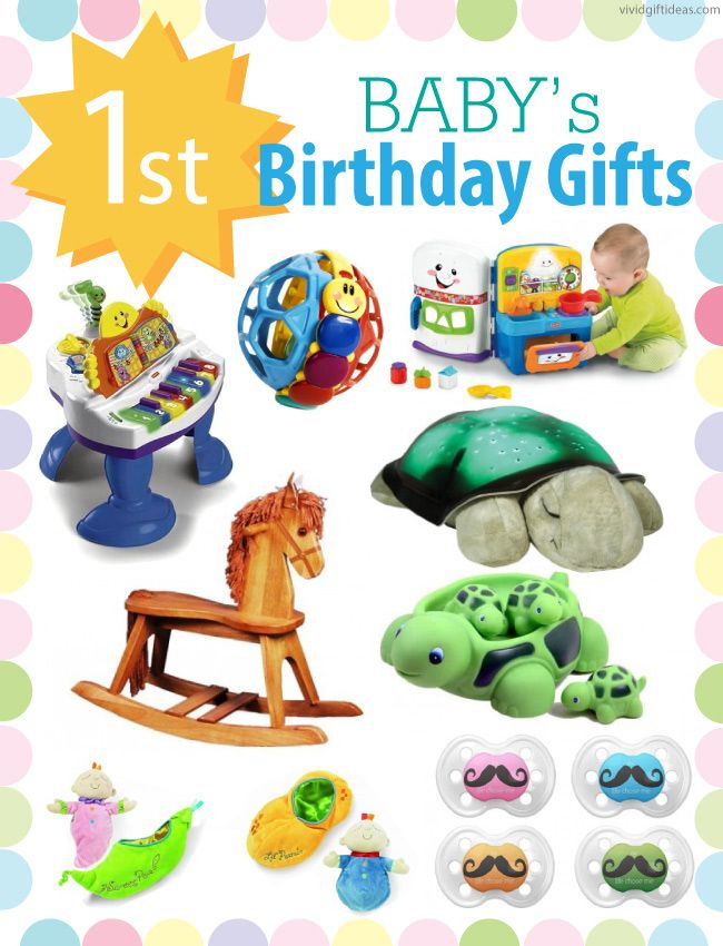 Creative gift ideas for baby's first birthday