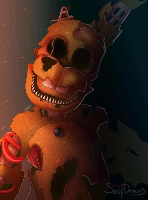 honestly his fnaf 3 counterpart was better