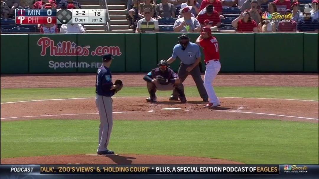 Rhys bein Rhys Philadelphia phillies, Baseball field