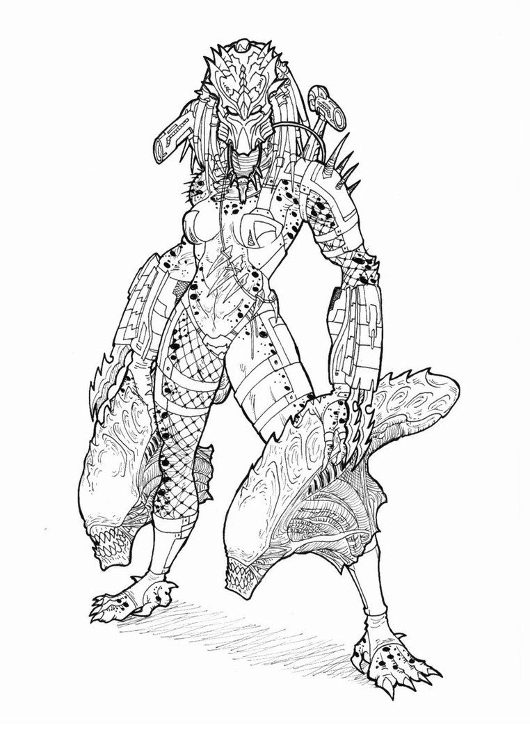 Angry Mom Masked by Ronniesolano on DeviantArt | predator ...