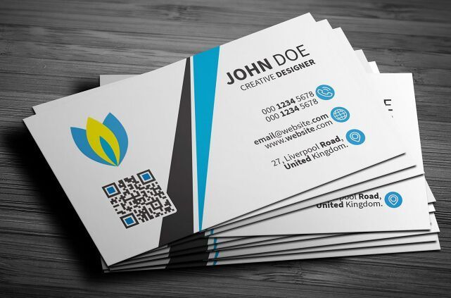 Free light clean corporate business card psd template pinterest light clean corporate business card psd template reheart Image collections