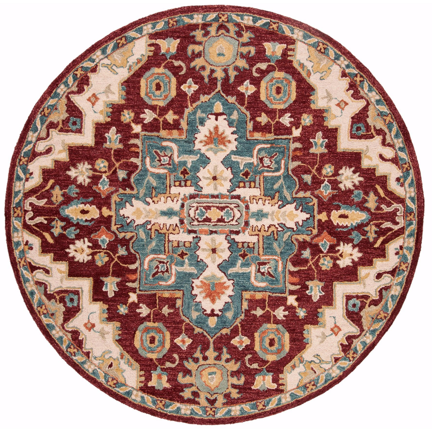 Safavieh Handmade Aspen Rilla Boho Tribal Wool Rug Southwestern