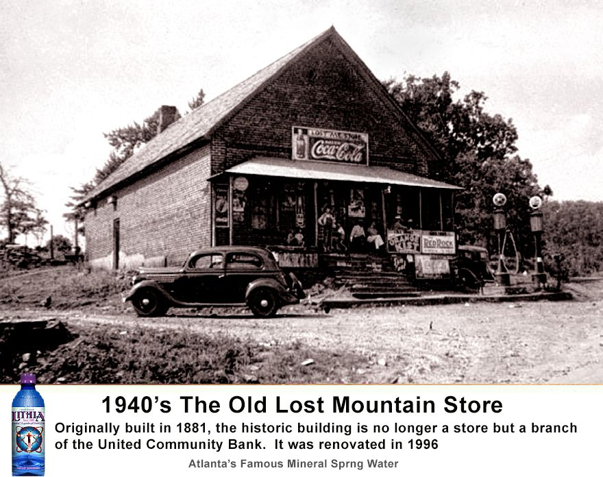 Old Lost Mountain Store Rather Than Tearing Down This Unique Community Landmark Built In 1881 It Has Been Renovate Lithia Springs Spring History History Photos