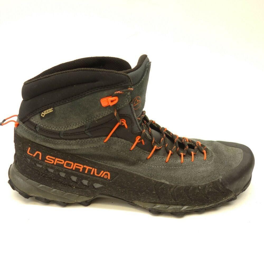 La Sportiva Mens TX4 GORE-TEX Trail Walking Shoes Black Blue Sports Outdoors