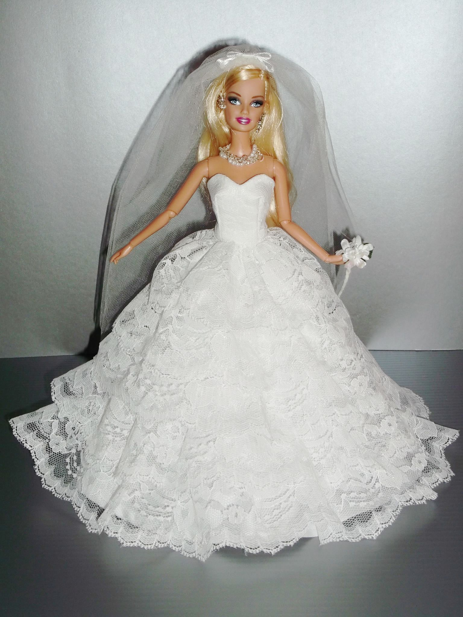 1..3/Barbie bridal wedding gowns Rocio Couture | Barbie/Doll Brides ...